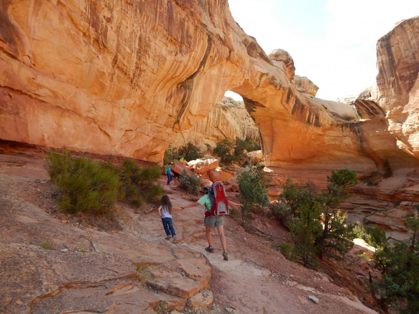 Hiking Capitol Reef Nat'l Park With The Younguns
