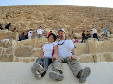 Chillin' On The Great Pyramid