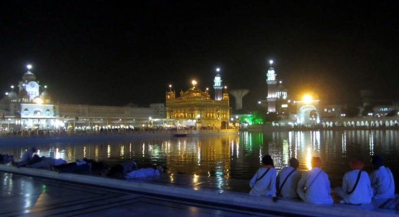 The high holy place of the Sikh religion