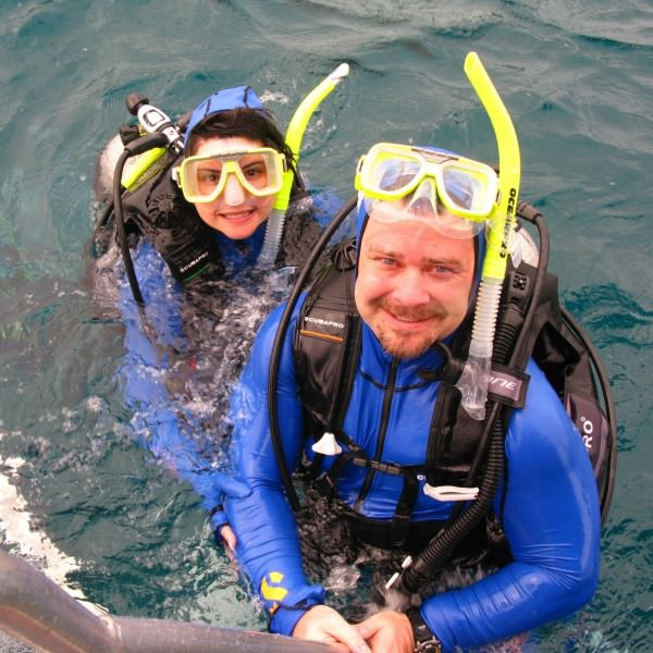 Scot and Emily McKay -- Great Barrier Reef, Australia