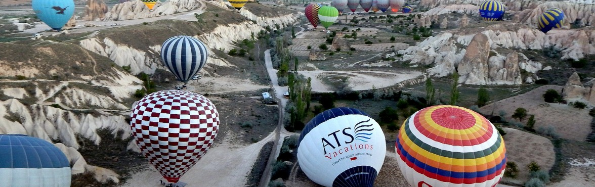 Up, up and away in Cappadocia!