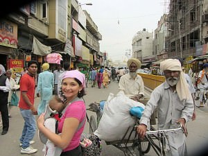 On The Streets Of Amritsar
