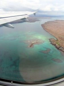 Final Approach Into The Galapagos Islands