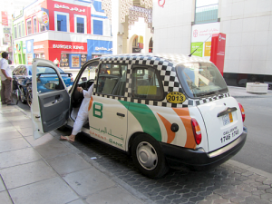 London Style taxi in Bahrain