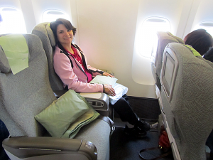 Premium Economy On Eva Air.