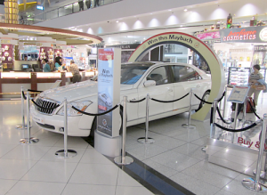 Win This Maybach At Dubai International Airport.